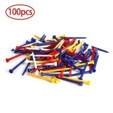 ขาย New 83Mm Outdoor Sport 100Pcs Plastic Golf Tees Training Golf Accessories Intl ถูก จีน