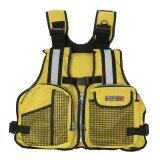 ราคา New *D*Lt Marine Buoyancy Aid Sailing Kayak Fishing Boating Ski Life Jacket Vest Yellow Intl ใหม่ ถูก