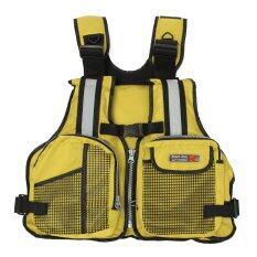 โปรโมชั่น New *D*Lt Marine Buoyancy Aid Sailing Kayak Fishing Boating Ski Life Jacket Vest Yellow Intl Unbranded Generic