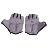 New Cycling Bicycle Motorcycle Sport Gel Half Finger Gloves Gray Size L Unbranded Generic ถูก ใน จีน