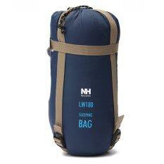 ขาย ซื้อ New Outdoor Envelope Sleeping Bag Camping Travel Hiking Multifuntion Ultralight Deep Blue ใน แองโกลา