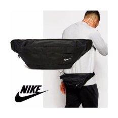 ราคา Nike กระเป๋าคาดเอว คาดหลัง Nike Hood Waistpack Bag ลิขสิทธิ์แท้ สีดำ Nike เป็นต้นฉบับ