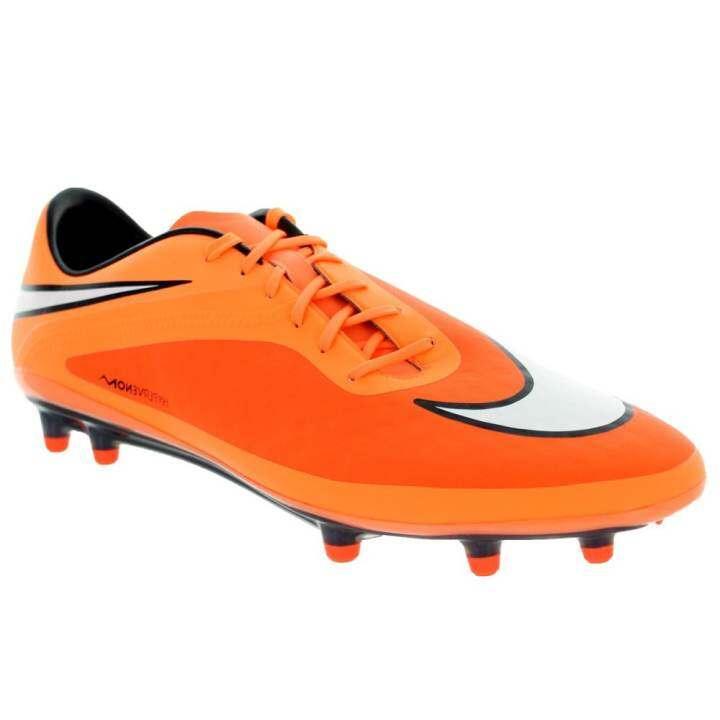 Nike รองเท้าฟุตบอล Hypervenom Phatal FG รองท็อป (ส้ม)