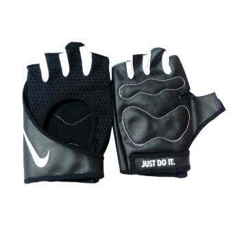 NIKE ถุงมือ ฟิตเนส ไนกี้ W PERF Wrap Training Glove A9027 (1390)