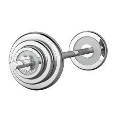 ซื้อ Nk Fitness Barbell Chromed Set 25 Kg บาร์เบลชุด 25 กิโล ชุปโครเมียม ถูก