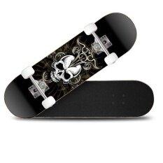 ขาย Ocean New Skateboards Long Board Four Round *d*lt And Children Vitality Board Unisex Black And Grey Intl Unbranded Generic ผู้ค้าส่ง
