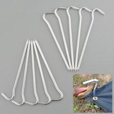 ขาย Oem 10X Alluminum Alloy Tent Peg Stake Hook Necessary Trip Traval Survival ใหม่