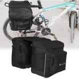 ราคา Oh Bicycle Unilateral Luggage Bag Outdoor Waterproof Bike Rear Rack Carrier Bag Black Intl ใน จีน