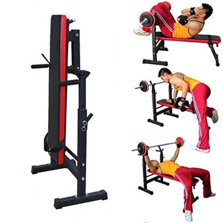 Lazada Dumbbell Set: OneTwoFit Multifunctional Adjustable Weight Bench Squat