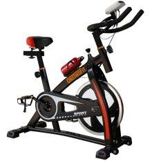 ซื้อ Onetwofit จักรยานปั่นออกกำลังกาย S300 Spin Bike Ex Spinning Bike สีดำ ใน กรุงเทพมหานคร