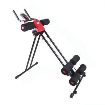 Orbia เครื่องออกกำลังกาย 5 Mins Shaper สร้าง Sixpack ลดหน้าท้อง (Black/Red)