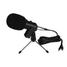 ราคา Oscar Store Usb Wired Audio Sound Studio Mic Pc Condenser Recording Microphone W Stand Intl