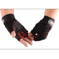 Oscar Store Weight Lifting Gym Gloves Training Fitness Wrist Wrap Workout Exercise Sports By Oscar Store.