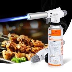 โปรโมชั่น Outdoor Auto Flame Ignition Gas Torch Camping Bbq Survival Stove Flamethrower Intl Unbranded Generic