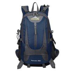 ราคา Outdoor Camping 40L Backpack Hunting Travel Backpack Big Capacity Dark Blue Intl ออนไลน์ จีน