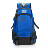 ซื้อ Outdoor Double Shoulder Travel Backpack Casual Bag Pack Camping Hiking Water Resistant Nylon Blue Intl ออนไลน์ จีน