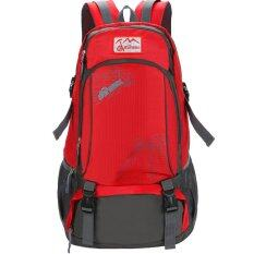ส่วนลด Outdoor Double Shoulder Travel Backpack Casual Bag Pack Camping Hiking Water Resistant Nylon Red Intl Unbranded Generic ใน จีน