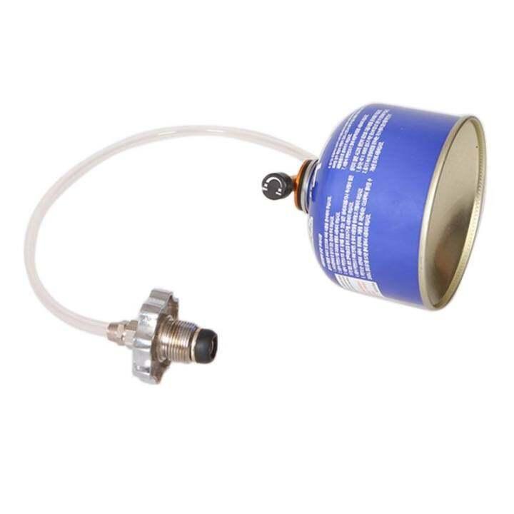 แนะนำ Outdoor Gas Stove Camping Stove Gas Refill Adapter Cylinder Tank Coupler – intl