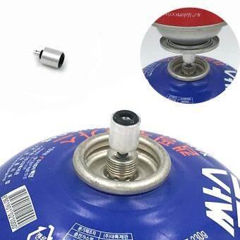 กลางแจ้งโพรเพนรีฟิลอะแดปเตอร์เติมจุกวาล์วแก๊สกระบอกสูบแบบแบนอุปกรณ์เสริมเครื่องต่อ - INTL-