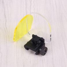 ทบทวน Outdoor Scope Sight Lens Protector Cover Shield Panel Airsoft Paintball Game Oem