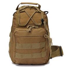 ขาย กีฬากลางแจ้งสนามเดินป่ากระเป๋าสะพายไหล่กระเป๋าเป้ทหารเป้ยุทธวิธีสีน้ำตาล ออนไลน์ แองโกลา