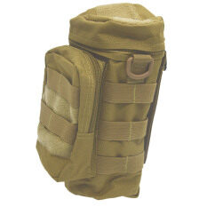 ขาย Outdoor Sport Tactical Gear Nylon Molle Zipper Camo Large Water Bottle Bag Kettle Pack W Mess Pouch Khaki Thinch ผู้ค้าส่ง