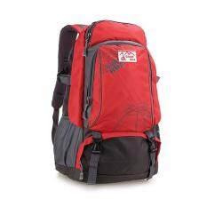 ราคา Outdoor Sports Bag Men And Women Large Backpack Red Intl ที่สุด