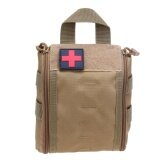 ซื้อ Outdoor Tactical Molle Emt First Aid Utility Medical Pouch Bag Khaki Intl Vakind ออนไลน์
