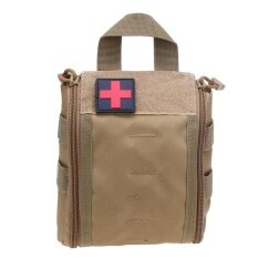 ขาย Outdoor Tactical Molle Emt First Aid Utility Medical Pouch Bag Khaki Intl ออนไลน์ ใน จีน