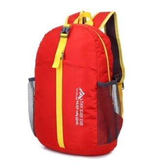 Outdoor Waterproof Folding Backpack School SatchelTravel Sport Hiking Laptop Bag - intl