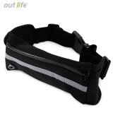 โปรโมชั่น Outlife Water Resistant Running Waist Pack Marathon Belt Bag Black Intl Unbranded Generic