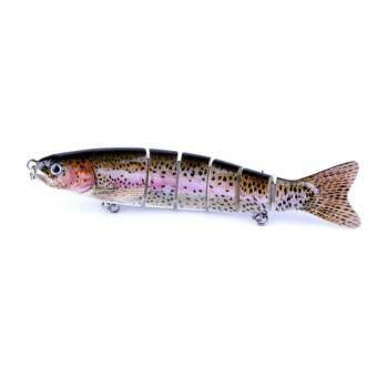 PALIGHT 1 ชิ้น 12.7 เซนติเมตร 6 Jointed เหยื่อตกปลาเหยื่อปลาเทียม Swimbaits - นานาชาติ