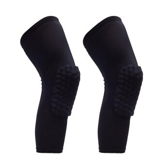 PAlight 2 Pcs Knee Support Pads Leg Sleeve Protective Pad Outdoor Guards(Size:XL) - intl