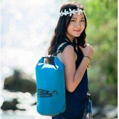 ราคา Penguinproof Op 10L กระเป๋ากันน้ำ 10 ลิตร สีฟ้า ออนไลน์