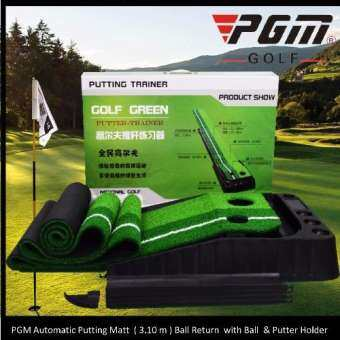 PGM 3.1 Meter Putting Mat PROFI Controlled Automatic Ball Return