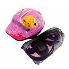 ขาย อุปกรณ์ป้องกัน ชุดป้องกัน หมวก สนับเข่า สนับมือ สนับศอก กันล้ม สำหรับเด็ก Pink เป็นต้นฉบับ