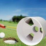 โปรโมชั่น Plastic Backyard Practice Golf Hole Pole Cup Flag Stick Putting Green Flagstick Intl