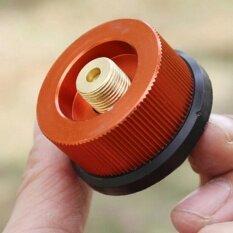 ขาย Pop Outdoor Camping Hiking Burner Conversion Head Stove Connector Gas Bottle Adaptor Intl จีน ถูก