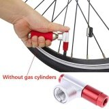 Portable Bike Bicycle Tire Air Co2 Inflator Pump Valve Head Presta Schrader Intl จีน