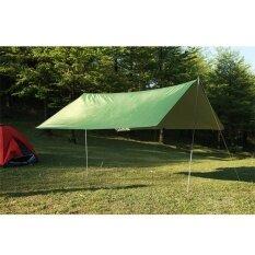 ขาย Portable Lightweight Camping Tent Tarp Rain Shelter Mat Hammock Cover Waterproof Intl Unbranded Generic ออนไลน์