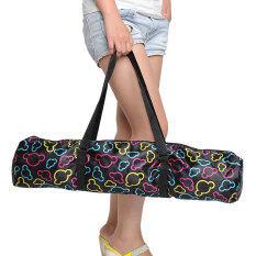 เสื่อโยคะกันน้ำแบบพกพากระเป๋าถือกระเป๋าเป้สะพายหลัง.