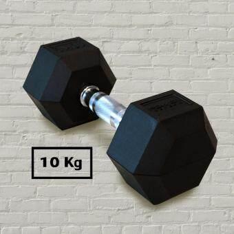 Power Reform ดัมเบล ยกน้ำหนัก รุ่น fix เหลี่ยม 10 kg (1ข้าง)