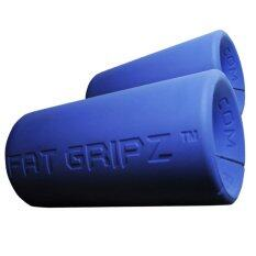 ซื้อ Power Up ตัวจับแกนดัมเบล และบาร์เบล Fat Gripz Blue ถูก