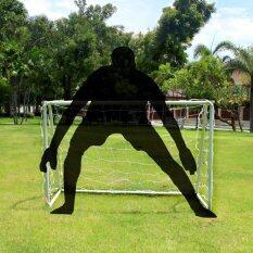 ประตูฟุตบอลเล็ก โกลฟุตบอล เหล็กสีขาวขนาด 1.2m โกลหนู(1.2m) By Dream Sport.