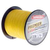 ราคา Pro 300M Super Strong 4 Stands Pe Braided Fishing Line Rope Cord New 1 Yellow) Intl ใหม่
