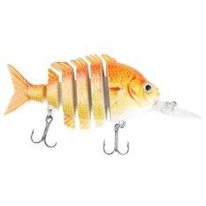 ราคา Proberos 10Cm 6 Part Long Lip Weever Shape Crankbait Hook Lure Fishing Bait For Outdoor Activity Color C Intl ใหม่ล่าสุด