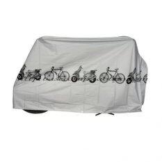 ผ้าคลุมจักรยานสีเทา By Starshop.