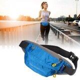 กระเป๋าคาดเอว สำหรับ วิ่งออกกำลังกาย ท่องเที่ยว ช้อปปิ้ง สีน้ำเงิน Unbranded Generic ถูก ใน กรุงเทพมหานคร