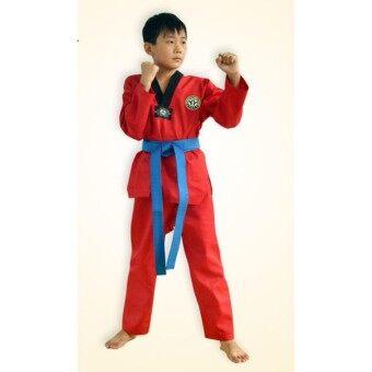 ชุดฝึกซ้อมเทควันโด ผ้าอย่างดี เทคอนโด้เทวันโด