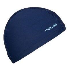 หมวกว่ายน้ำชนิดผ้า (สีกรมท่า)